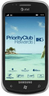 Priority Club Rewards Windows Phone 7 App
